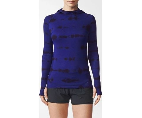 ADIDAS DUKS Primeknit Hooded Tee Women