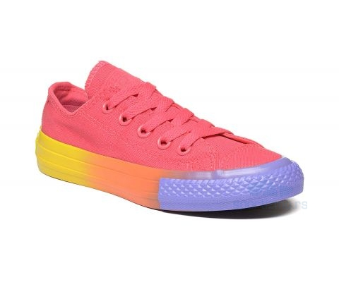 CONVERSE PATIKE Chuck Taylor All Star Rainbow Ice Ox