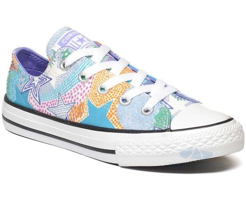 CONVERSE PATIKE Chuck Taylor All Star Street Mosaic Kids