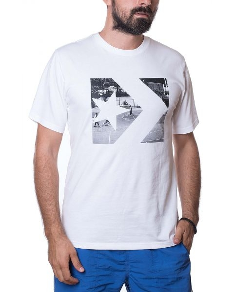 CONVERSE MAJICA Photo Fill Star Chevron Tee Men