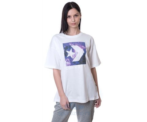 CONVERSE MAJICA Galaxy Star Chevron Tee Women