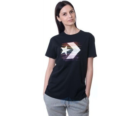 CONVERSE MAJICA Rainbow Thread Icon Remix Tee Women