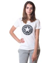 CONVERSE MAJICA Star Chevron Camo Fill Box Tee Women