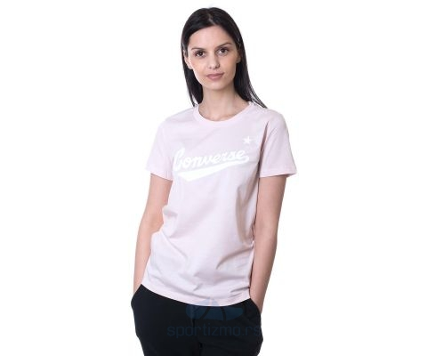 CONVERSE Center Front Logo Tee Women