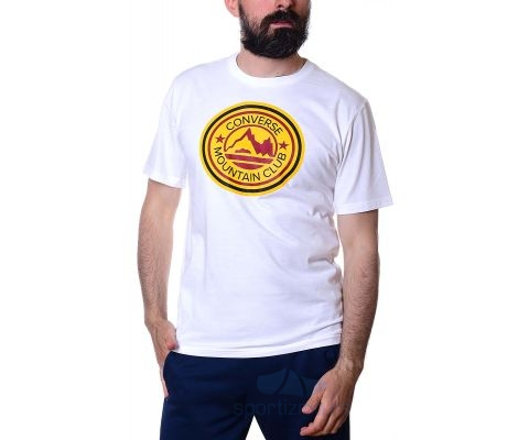 CONVERSE MAJICA Mountain Club Patch Tee Men