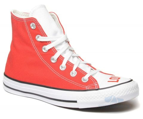 CONVERSE PATIKE Love Fearlessly Chuck Taylor All Star Hi