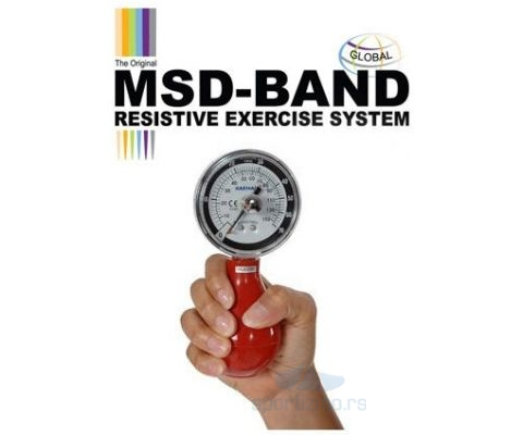 MSD Squeeze dynamometer + reset 70kg