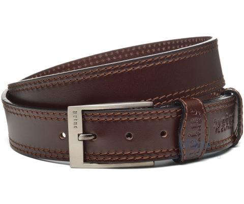 PRINC KAIŠ Belt Stitched B Men (Goveđa koža)