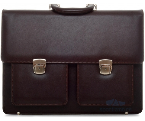 PRINC TORBA Briefbag Brown Unisex (Goveđa koža)