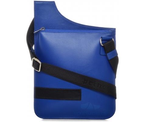 PRINC TORBICA Street Blue Men (Goveđa koža)