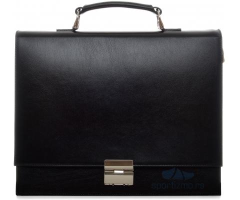 PRINC TORBA Business Men Black (Goveđa koža)