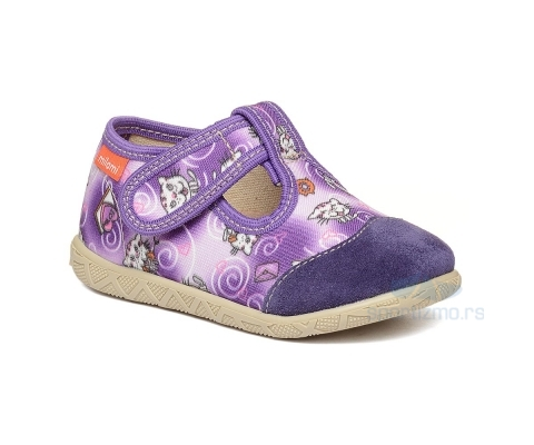 MILAMI PATOFNE Trend Violet Maca