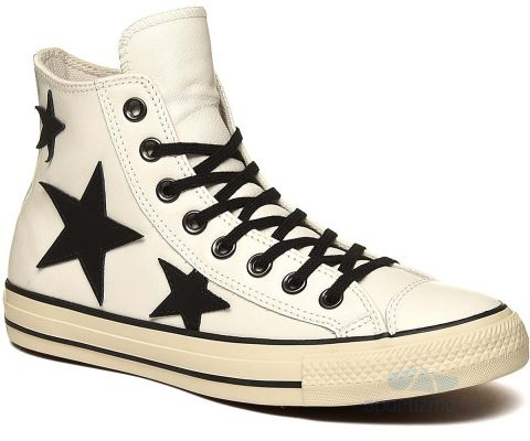 CONVERSE PATIKE Chuck Taylor All Star Leather Stars Women