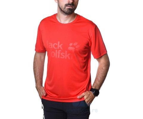 JACK WOLFSKIN MAJICA Rock Chill Logo Men