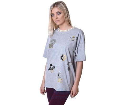 CONVERSE MAJICA All Over Patch Boxy Tee Women