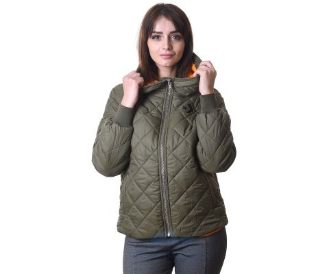 CONVERSE JAKNA Quilted Poly Puffer Women
