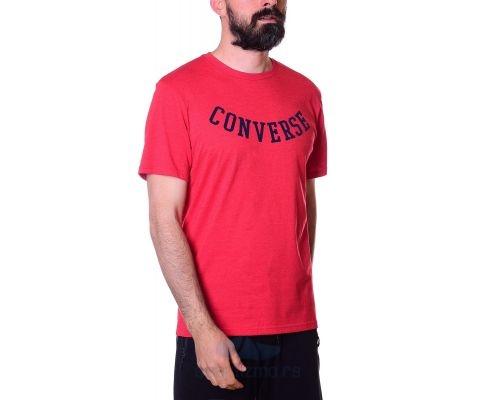 CONVERSE Majica Rvrse Athletic Arch Tee Enamel Red