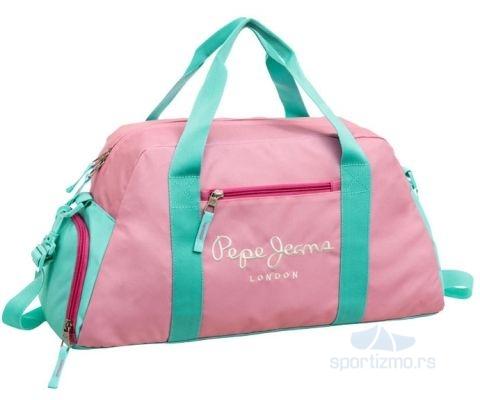 PEPE JEANS TORBA Bicolor Pink