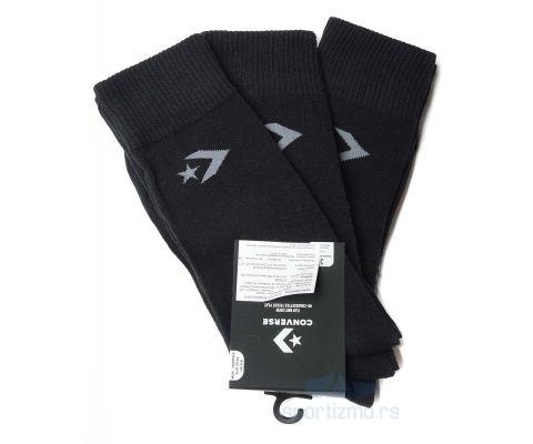 CONVERSE ČARAPE Basic Men Crew Flat Knit