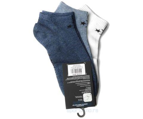 CONVERSE ČARAPE Basic Men Low Cut Flat Knit