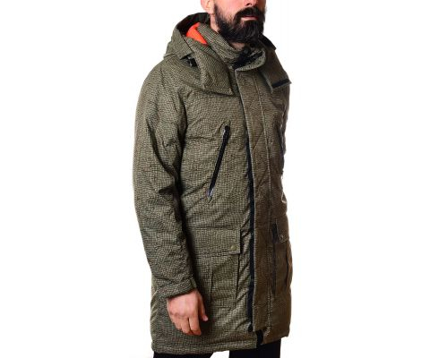 CONVERSE JAKNA Printed Sideline Down Jacket Men