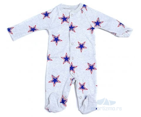 CONVERSE KOMBINEZON Retro Spt Footed Coverall Baby