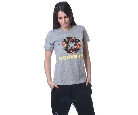 CONVERSE MAJICA Converse In Bloom Floral Tee Women