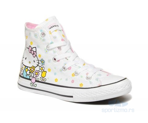 CONVERSE PATIKE Chuck Taylor All Star X Hello Kitty Hi Kids