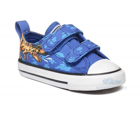 CONVERSE PATIKE Chuck Taylor All Star Dino Beach Party Kids