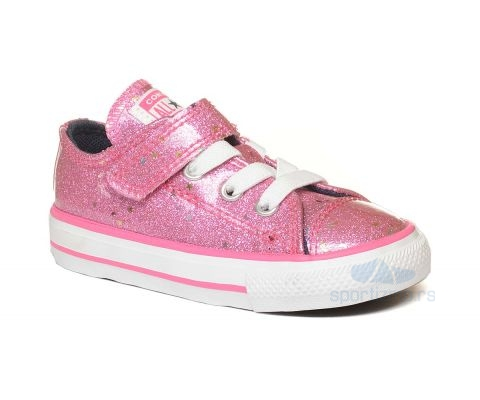 CONVERSE PATIKE Chuck Taylor All Star Galaxy Glimmer Hook and Loop Kids