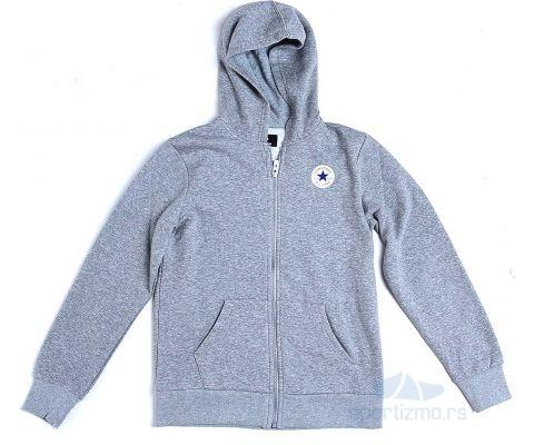CONVERSE DUKS Fleece Printed Chuck Patch Full Zip Hood