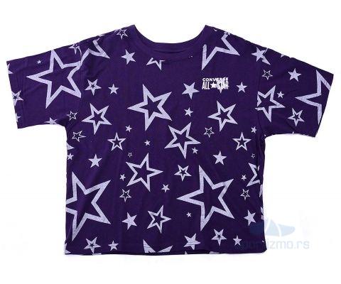 CONVERSE MAJICA Printed All Star Boxy Tee Kids