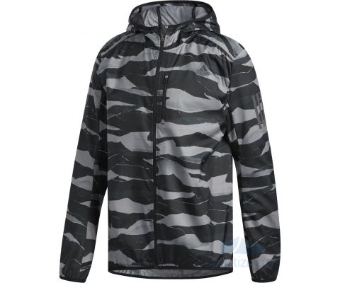 ADIDAS JAKNA Own the Run Graphic Wind Jacket Men