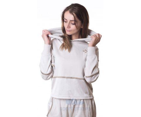 CONVERSE DUKS Colorblock Shine Pullover Women