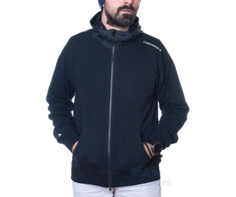 CONVERSE DUKS Mixed Media FZ Hoodie FT Men