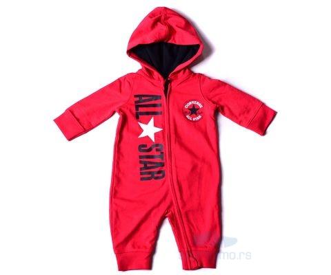 CONVERSE KOMBINEZON All Star Hooded ZipUp Baby