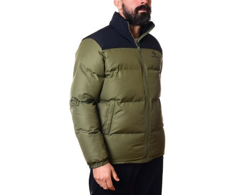 CONVERSE JAKNA Poly Fill Cb Puffer Jacket Men