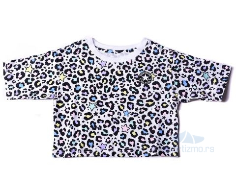 CONVERSE MAJICA Cnvg Leopard Aop Tee Kids
