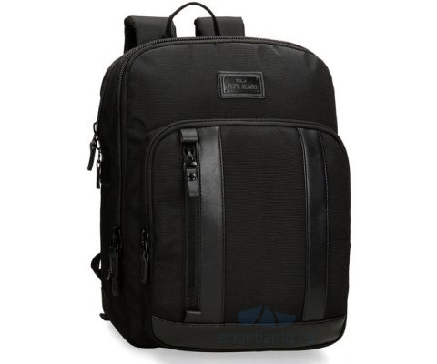 PEPE JEANS RANAC All Black - Laptop 13.3