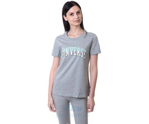CONVERSE MAJICA Twisted Varsity Classic Tee Women