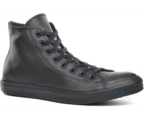 CONVERSE PATIKE Chuck Taylor All Star Monochrome Leather Hi