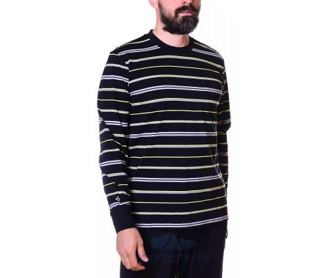 CONVERSE Majica Skate Inspired Club Long Sleeve Black