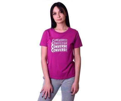 Converse Majica Womens Metallic Wave Classic Te