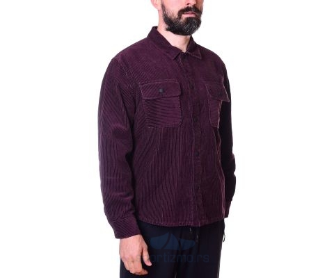 CONVERSE Košulja Button Down Shirt Black Currant