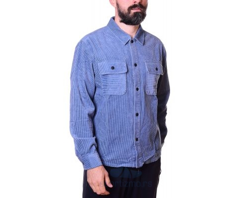 CONVERSE Košulja Button Down Shirt Lakeside Blue