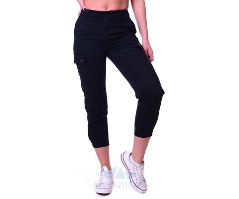 Converse Pantalone Cargo Woven Pant Black Women