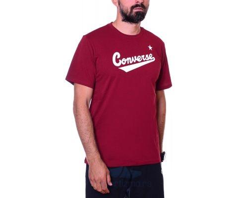 CONVERSE MAJICA Center Front Logo Tee Men