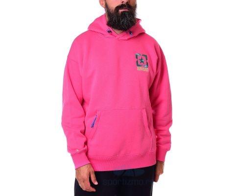 CONVERSE DUKS Alt Terrain Pullover Hoddie Bold Pink Men