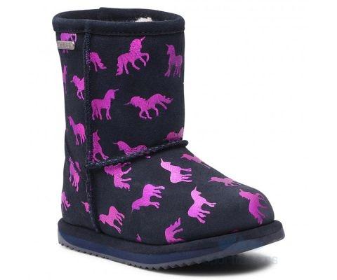 EMU ČIZME Rainbow Unicorn Brumby Kids