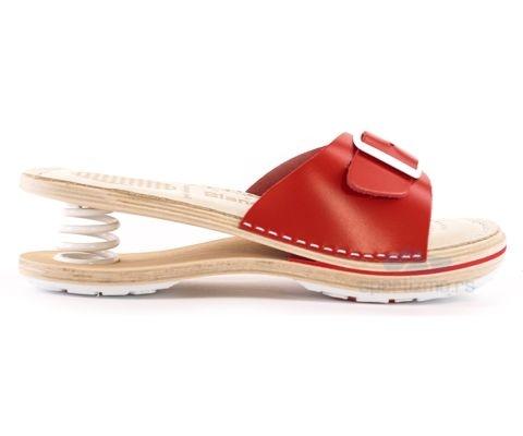 BIANCO MOLINA PAPUČE Feder papuče F200 Crvene